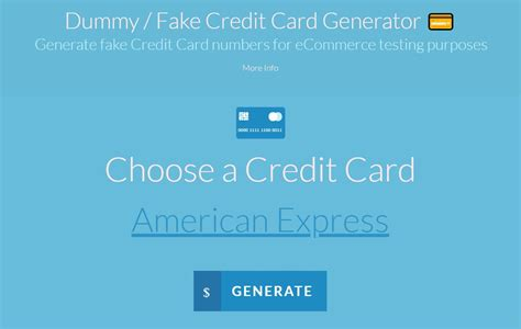 Every information that is required is provided for in this platform. Top 10 Best Fake Credit Card Generator Tools Online 2021
