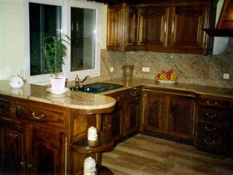 cuisine meuble bois cuisine sur mesure posée à auxerre