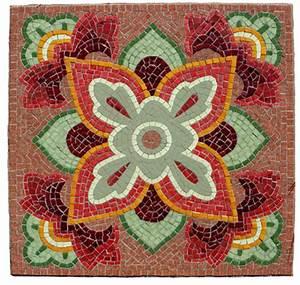 SQUARE MOSAICS on Pinterest | Mosaic Stepping Stones ...