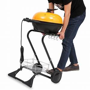 Portable Outdoor Indoor Grill Electric Smokeless Tabletop