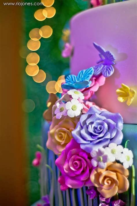 karas party ideas enchanted garden princess birthday