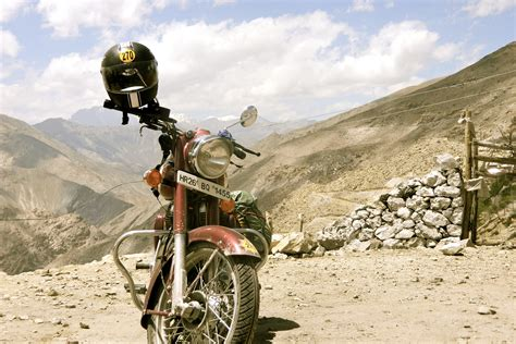 Motorcycle Diaries. Road To Ladakh…