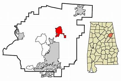 Alabama Jacksonville Wikipedia Calhoun County Simple Svg