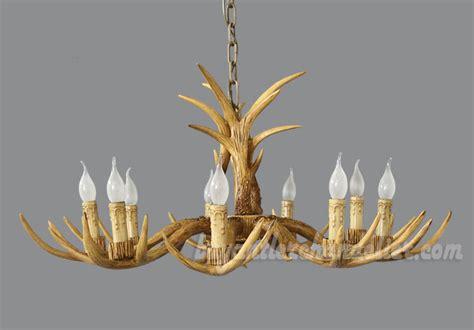 antler chandelier cheap cheap 8 cast deer antler chandelier candelabra rustic