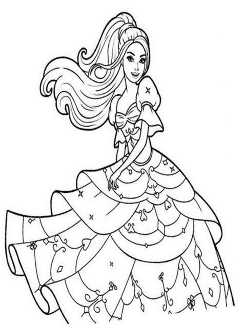 disegni da colorare  barbie