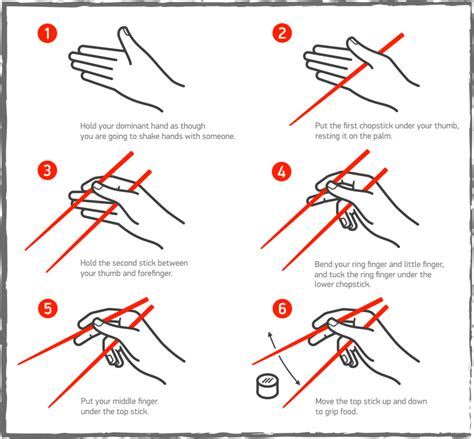 Learn To Use Chopsticks Effectively • Homeware Secrets