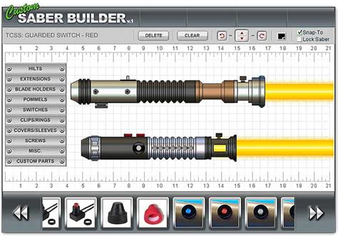 light saber builder interactive saber builder page 12