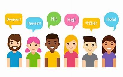 Clip Languages International Language Different Students Adults