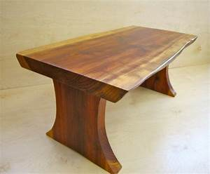 live edge redwood coffee table craftsman coffee tables With live edge redwood coffee table