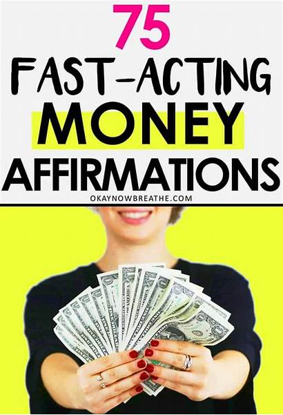 Money Affirmations Mantras Powerful Fast Okaynowbreathe Quotes