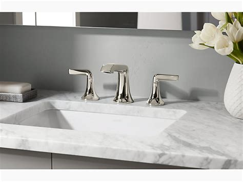 kohler caxton rectangle undermount vanity sink