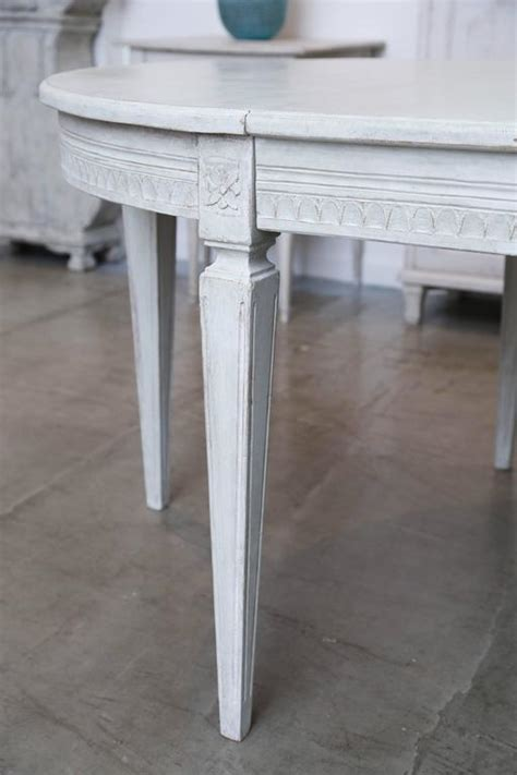 antique swedish painted dining table late  century