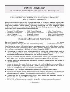 business management resume f resume With regional sales manager resume template