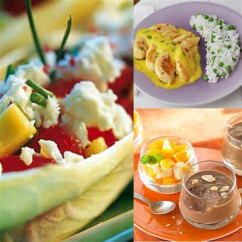 menu semaine cuisine az 7 menus pour une semaine équilibrée envie de bien manger