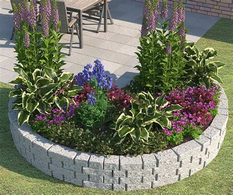 beet mit sträuchern anlegen die 25 besten ideen zu steingarten gestalten auf steingartenpflanzen garten