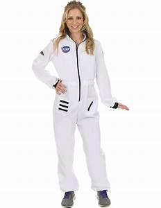 Ladies White Astronaut Spacewoman Space NASA Fancy Dress ...