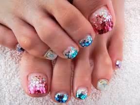 Big toe nail art designs creative design