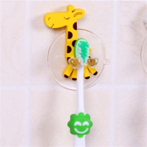 bathroom accessories shelf cute giraffe portable powerful