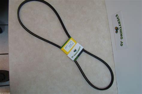 Deere Stx38 Yellow Deck Drive Belt by M88184 Mower Belt For Deere Stx38 With Yellow Deck Ebay
