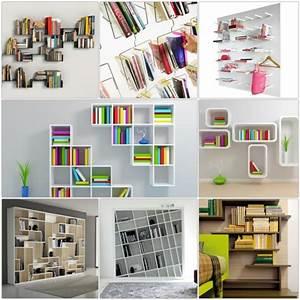 Bücherregal Für Die Wand : b cherregal wand designer wandregale im wohnzimmer ~ Indierocktalk.com Haus und Dekorationen