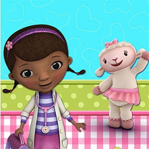 Doc McStuffins Printed Plastic Tablecover   Buy Online in