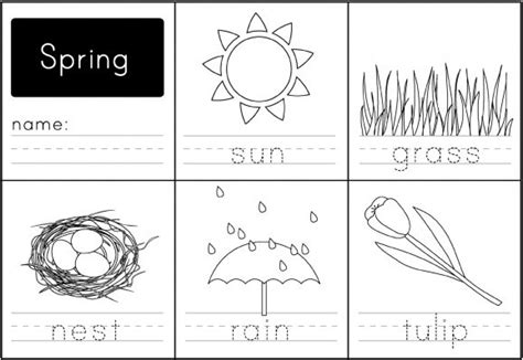 spring preschool worksheets handwriting printable paging supermom 480
