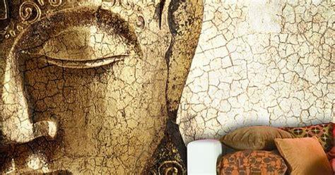 buddha wall mural repositionable peel  stick