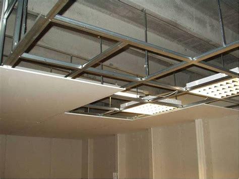 struttura per cartongesso soffitto lavori cartongesso posa dell orditura metallica cartongesso