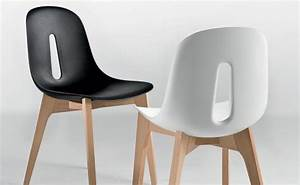 Chaise En Bois Blanc : chaise de cuisine en bois blanc 3 id es de d coration int rieure french decor ~ Teatrodelosmanantiales.com Idées de Décoration