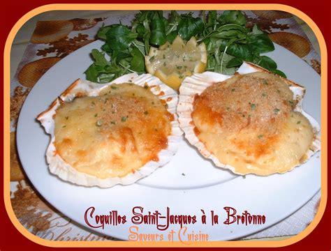 cuisiner les coquilles st jacques surgel s coquille jacques à la bretonne blogs de cuisine