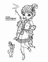 Coloring Flapper Pages Deviantart Jadedragonne 1920 Lineart Colouring Books Drawing Peacock Drawings Printable Disney Ink Adult Blank Background Line Metacharis sketch template