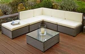 Sitzgarnitur Garten Rattan : poly rattan sitzgruppe sitzgarnitur gartenm bel sofa lounge garten tisch braun ebay ~ Indierocktalk.com Haus und Dekorationen