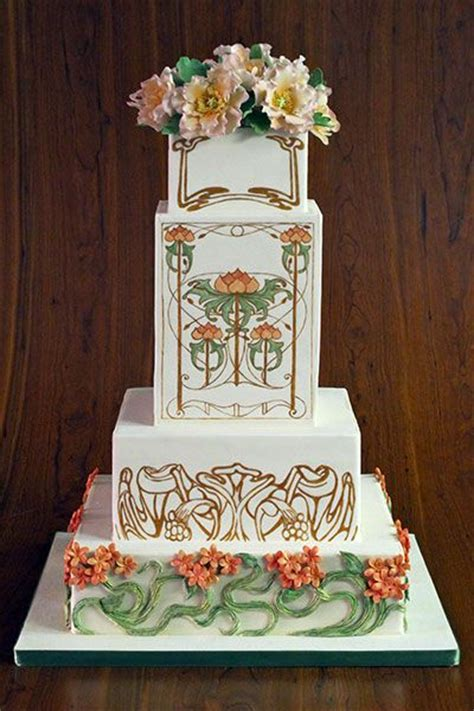 Best 25 Art Deco Cake Ideas On Pinterest 1920s Wedding