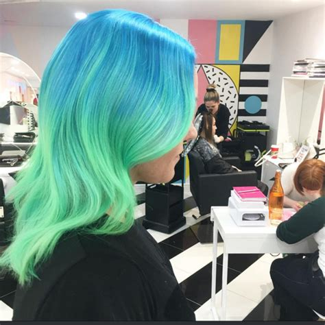 Another Name For Hair by Grungy Dip Dye Is Out And High End Bleed Is In Colour