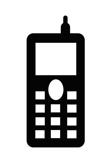 sign in mobile phone quot mobile telephone sign as clipart quot by naturaldigital