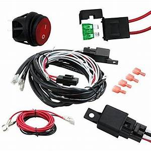 1 40 Amp Universal Wiring Harness For Off Road Led Light