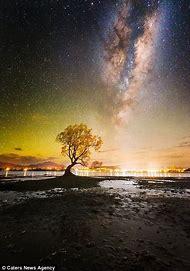 Boulders New Zealand Milky Way