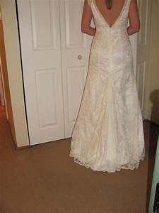diy bustle weddingbee With how to make a bustle on a wedding dress