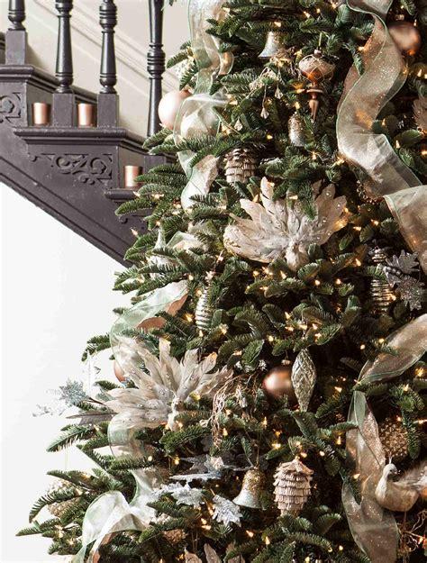 bh noble fir  winter frost ornaments  balsam hill