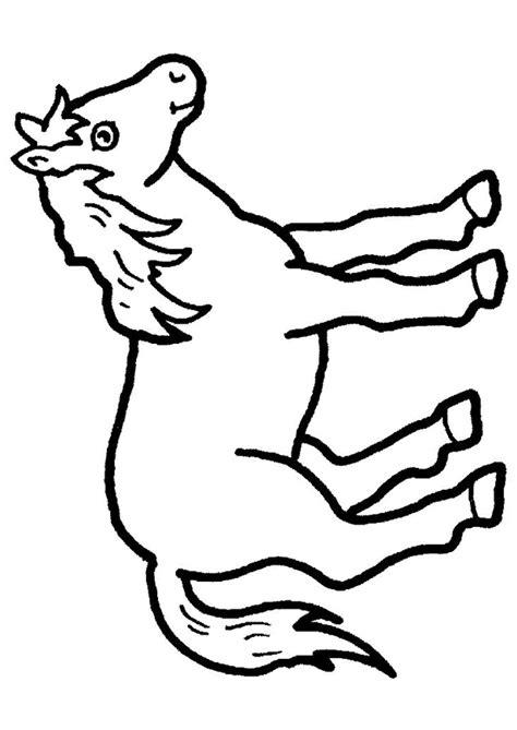 Kleurplaat Circuspaard by Paard Tekenen Qx07 Belbin Info