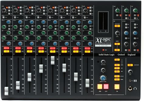solid state logic  desk superanalogue mixer sweetwater