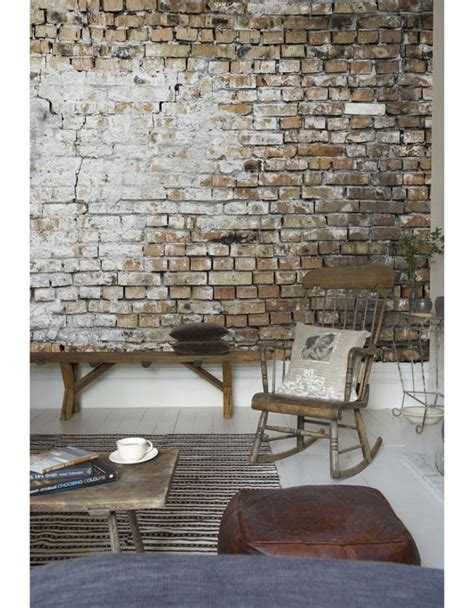 exposed brickwork wallpaper photowall brickwall wallpaper what do you think for the home pinterest exposed brick