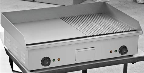 flat top griddle table top half flat grill with two burner bn 822b buy