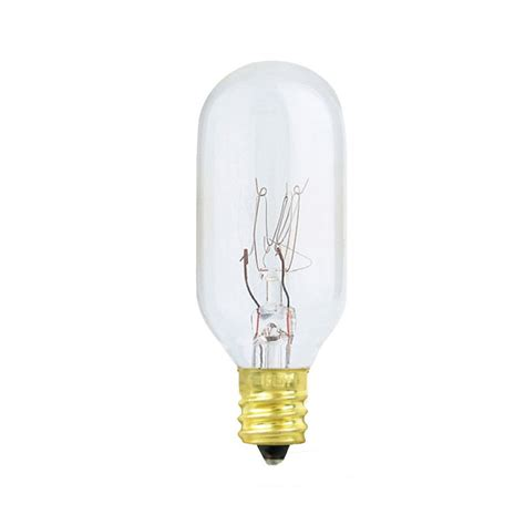 25 watt light bulb feit electric 25 watt intermediate base t8 bright white