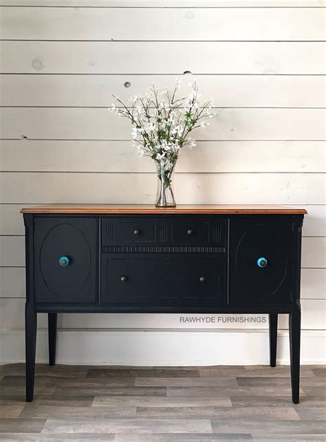 lamp black buffet  gel stain top general finishes