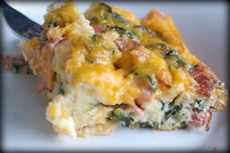 egg casserole for brunch baked egg breakfast casserole with mushrooms spinach salsa recipe dishmaps
