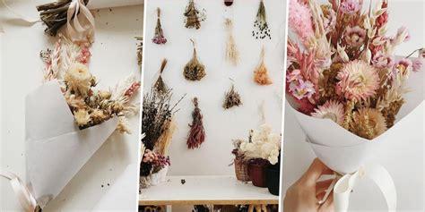 comment faire secher des fleurs  des plantes marie claire