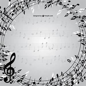 Vecteur notes de musique de cadre Télécharger des Vecteurs gratuitement