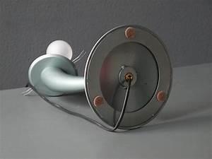 Große Kerzenständer Metall : gro e tischlampe aus metall mit opalglas leuchte 1980er bei pamono kaufen ~ Indierocktalk.com Haus und Dekorationen