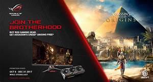 ASUS ASSASSIN'S CREED ORIGINS Game Bundle Promotion